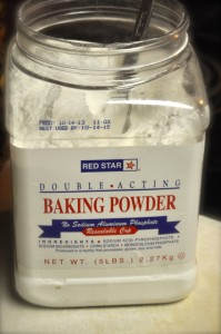 3/4 baking powder.